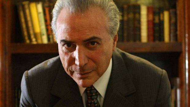 Deputado federal e presidente da Câmara dos Deputados, Michel Temer, do PMDB-SP, em seu escritório no bairro do Itaim.