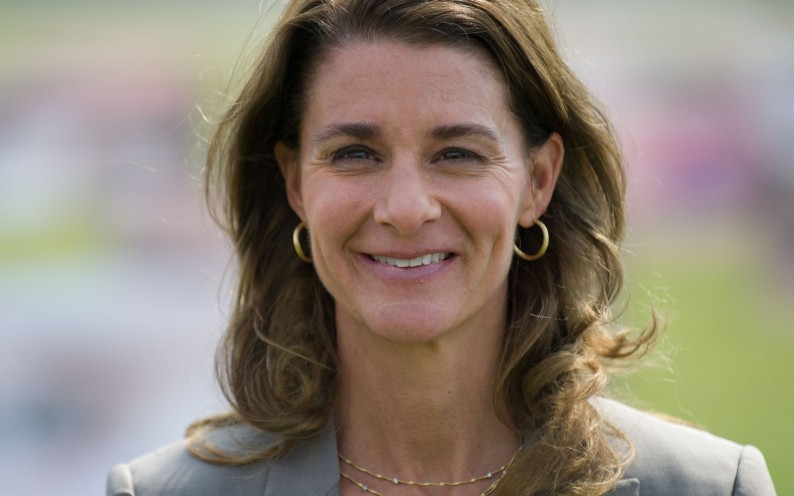 Melinda Gates, co-chairwoman of the the Bill & Melinda Gates foundation attends an event of the development advocacy ONE campaign